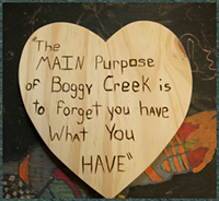 The main purpose of Boggy Creek is to forget what you have